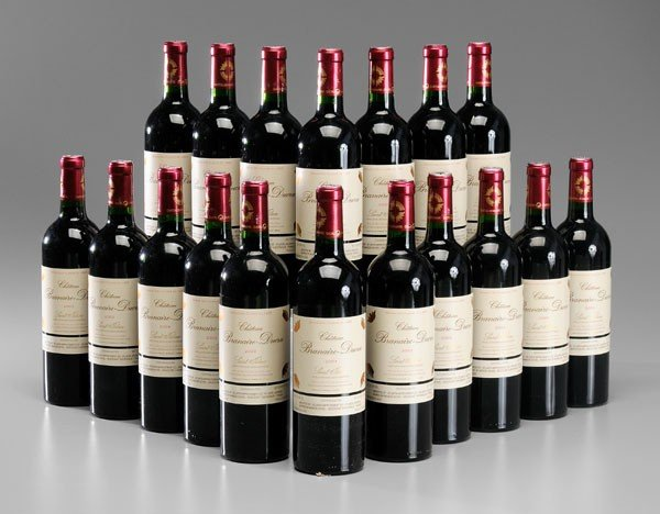 12: Eighteen Bottles Red Bordeaux Wine