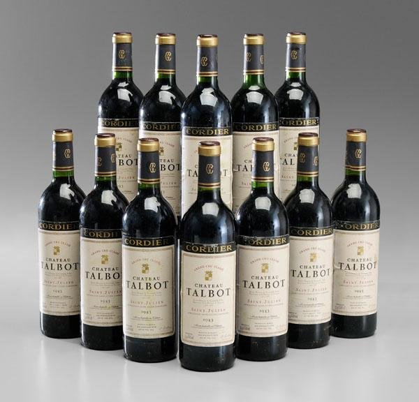 15: Twelve Bottles Red Bordeaux Wine