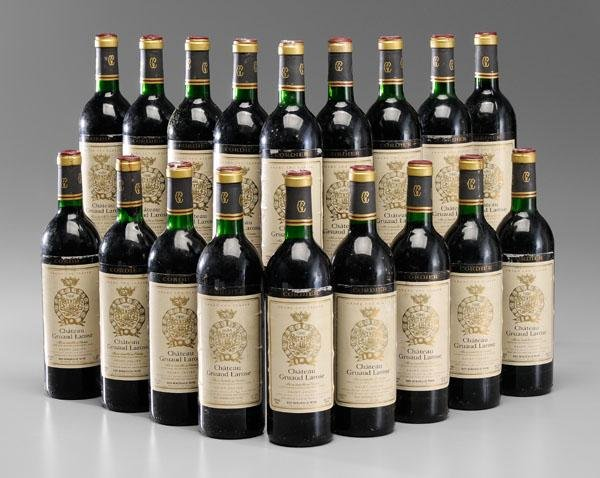 21: Eighteen Bottles Red Bordeaux Wine
