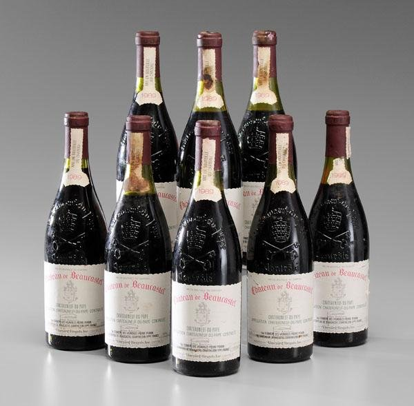 22: Eight Bottles Red Rhone Wine