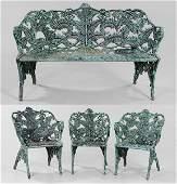 402 Victorian Cast Iron Garden Set