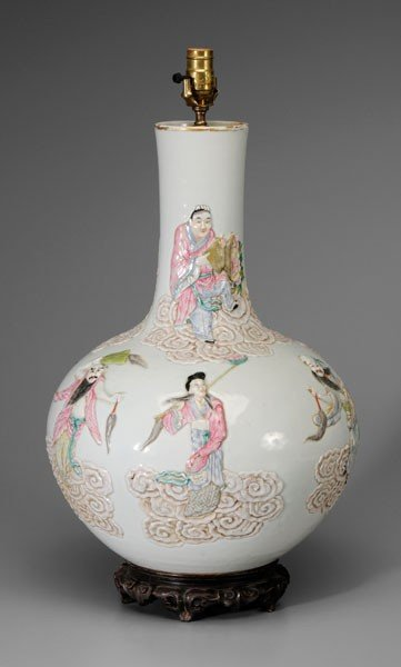 1354: Porcelain Bottle Vase