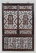 1445 Carved Wood Shutters