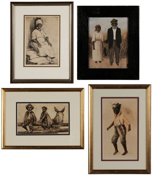 11: Four Southern Figural Scenes