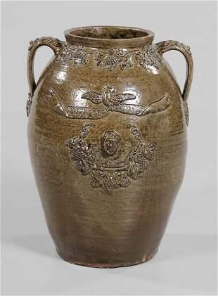 50: Rare John Lehman Alabama Political Jar