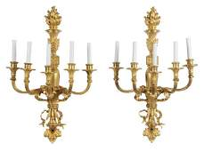 954: Pair Louis XV Style Sconces