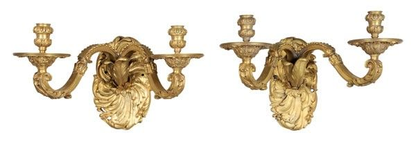 955: Pair Louis XV Style Sconces
