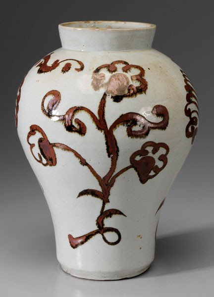 4: Baluster Ceramic Jar