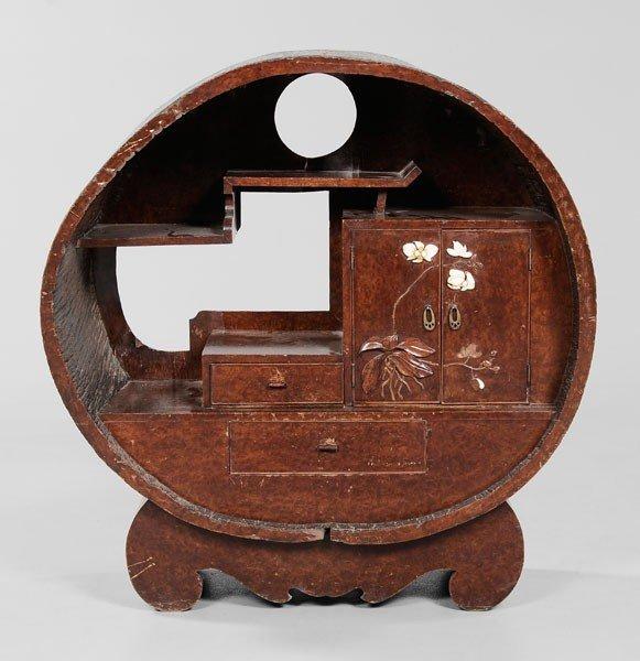 14: Circular Display Cabinet
