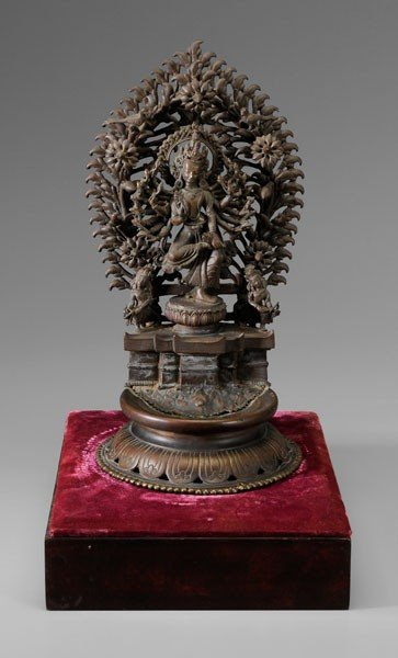 17: Bronze Figure of a Deity