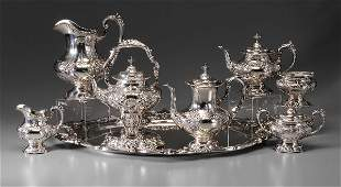 367: Francis I Sterling Tea Service, Tray