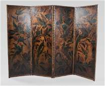 850 Painted Leather Screen