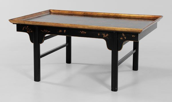 9: Chinese Lacquer Low Table