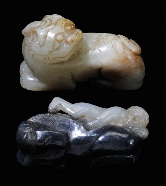 17: Two Jade Carvings
