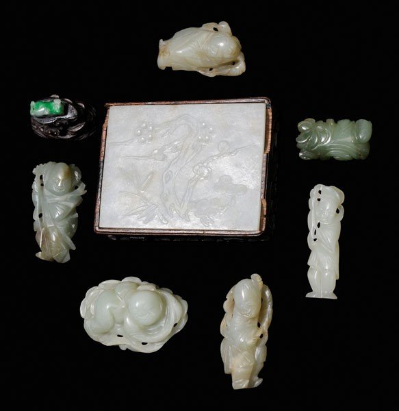 20: Eight Pieces of Jade, Serpentine