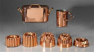 170: Seven Pieces Early Copper