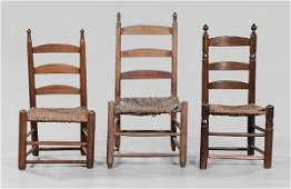 514 Three Early Southern Side Chairs