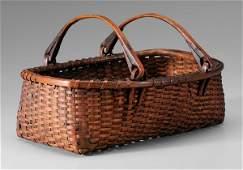 579: Oak Split Basket