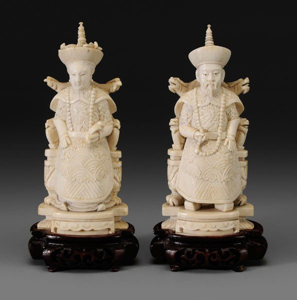1: Two Ivory Carvings