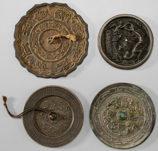 12: Four Bronze Mirrors