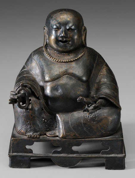 13: Bronze Figure of Budai or Kubera