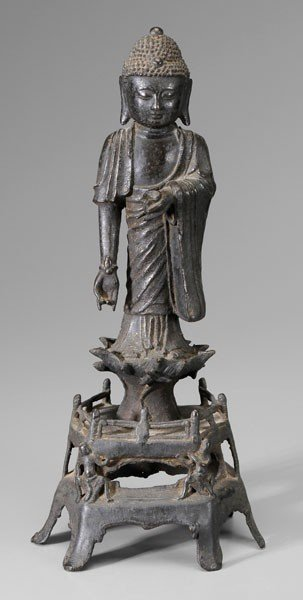 18: Bronze Figure of the Medicine Buddha