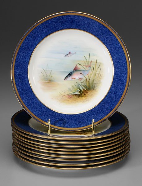 2: Set of Ten Wedgwood Fish Plates