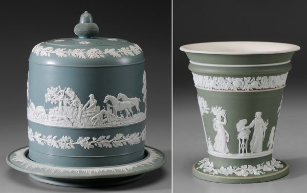 4: Wedgwood Style Cake Cover, Under Plate
