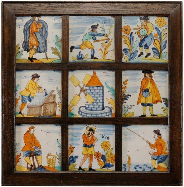 6: Nine Polychrome Tiles