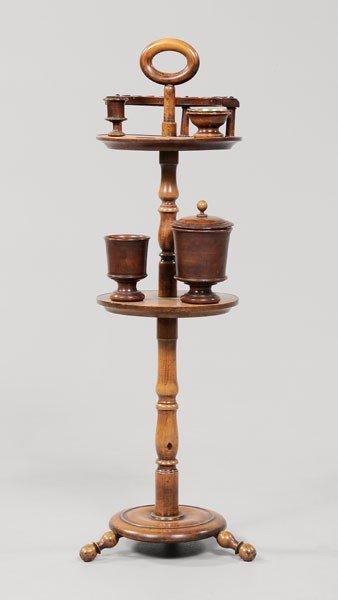 18: Treenware Smoking Stand