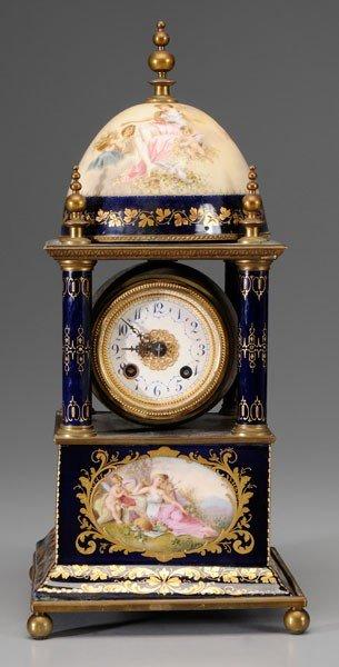582: Modified Lantern Style Clock