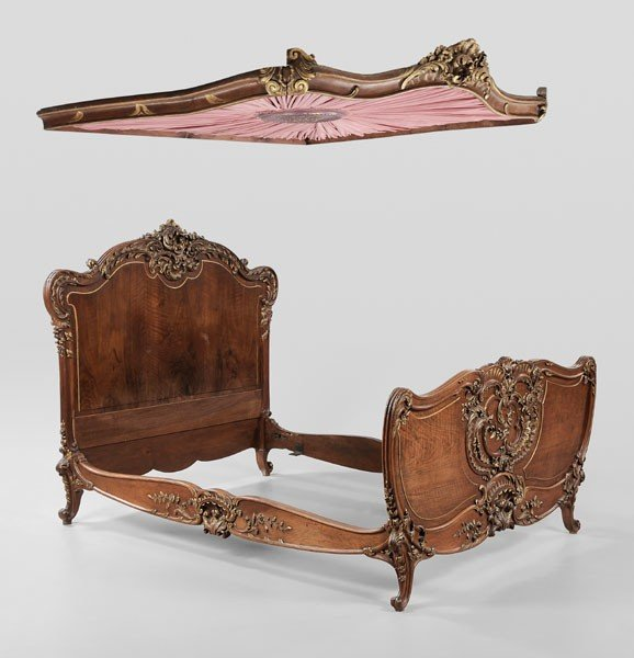 597: Louis XV Style Carved and Parcel Gilt