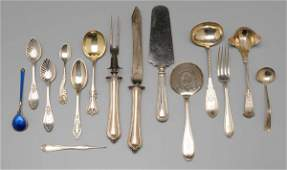 1040: Assorted Sterling Silver Flatware