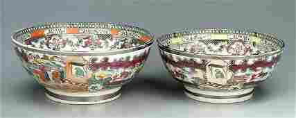 301: Two pearlware bowls: