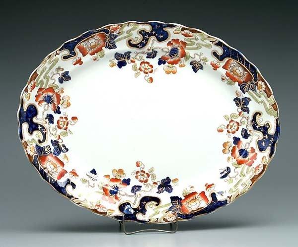 22: Imari-style Tokio platter,