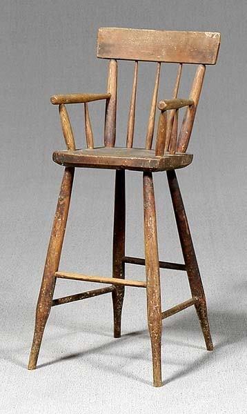 14: Windsor highchair,