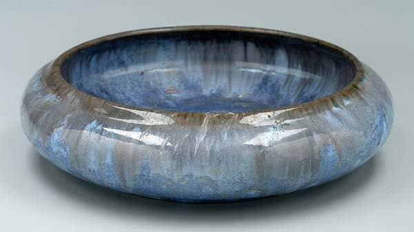 8: Fulper crystalline glaze bowl,