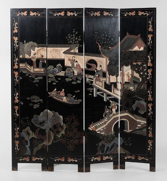 22: Four-Panel Coromandel Screen