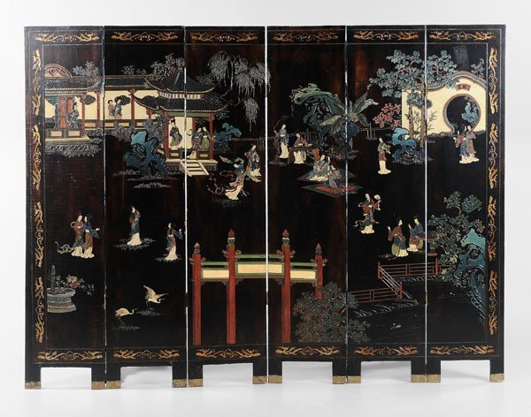 23: Six-Panel Coromandel Screen