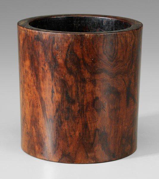 26: Huanghuali Brush Pot