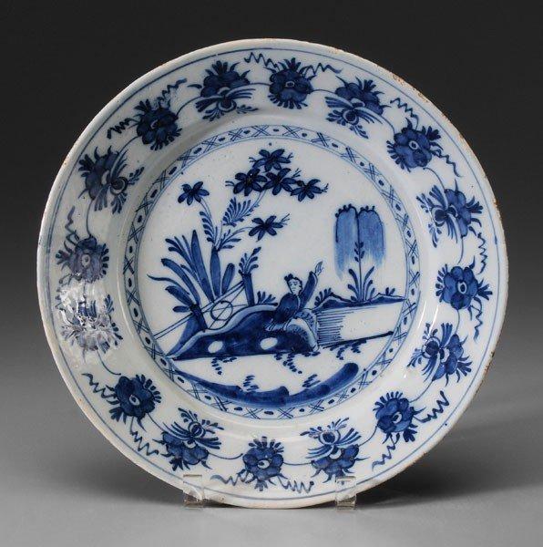 664: Delft Shallow Bowl