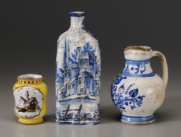 668: Three Delft Vessels