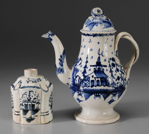 669: Delft Teapot, Tea Box