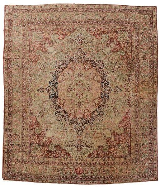 887: Lavar Kerman Carpet