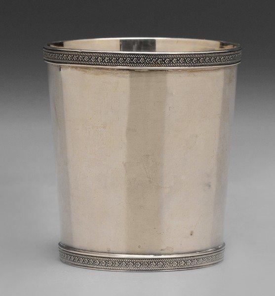 376: Diminutive Coin Silver Julep Cup