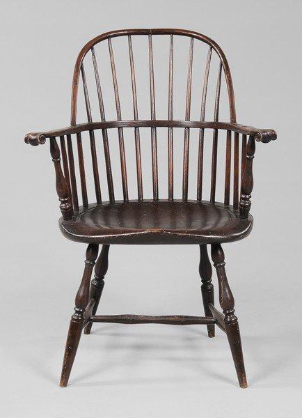 397: American Sack-Back Windsor Armchair