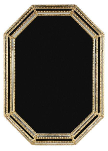 763: Italian Gilt Wood and Mirror-Framed
