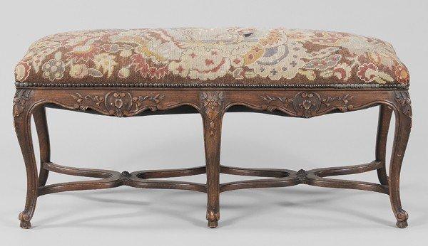 773: Provincial Louis XV Style Needlework-