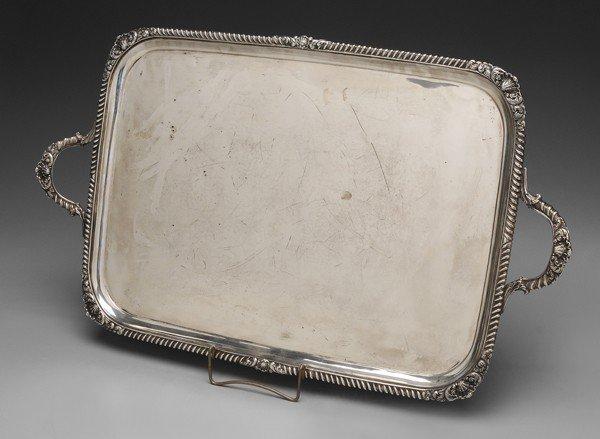 1310: English Silver Tray