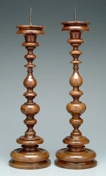 5: Two similar wooden prickets: